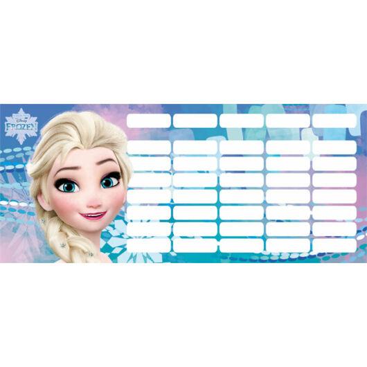 Órarend mini Frozen Magic