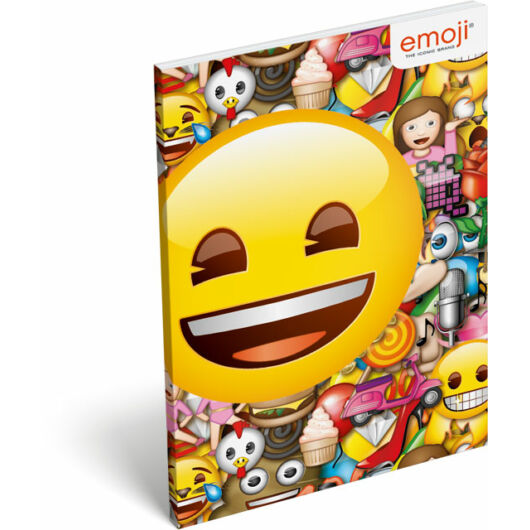 Papírfedeles notesz A6 emoji Smile