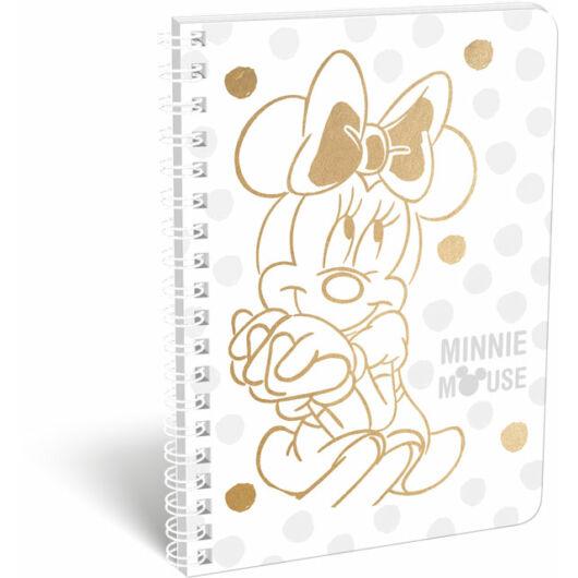 Füzet spirál A/5 kockás exkluzív Minnie Fashion White