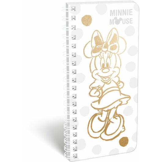 Füzet spirál szótár exkluzív Minnie Fashion White