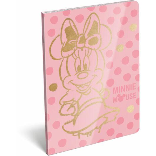 Füzet tűzött A/5 vonalas 21-32 exkluzív Minnie Fashion Pink