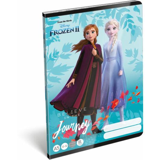 Füzet tűzött A/5 3.o. 12-32 Frozen 2 Believe