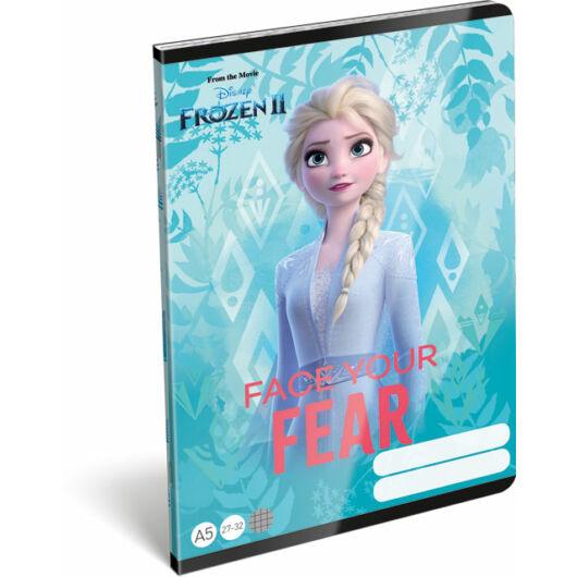 Füzet tűzött A/5 kockás 27-32 Frozen 2 Believe