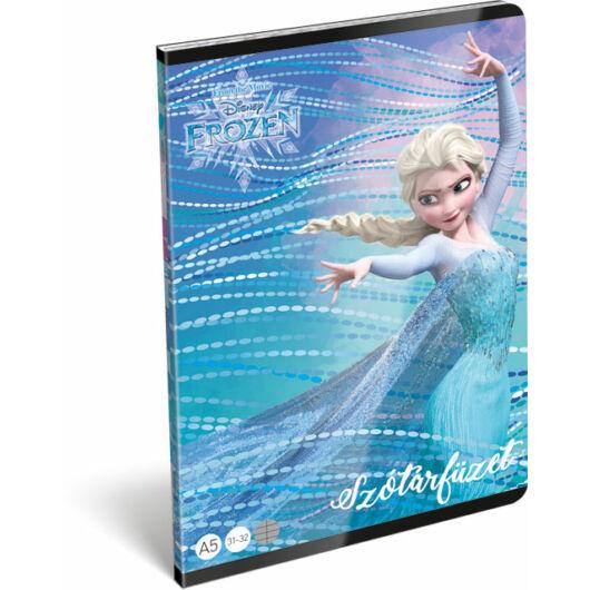Füzet tűzött A/5 szótár 31-32 Frozen Magic