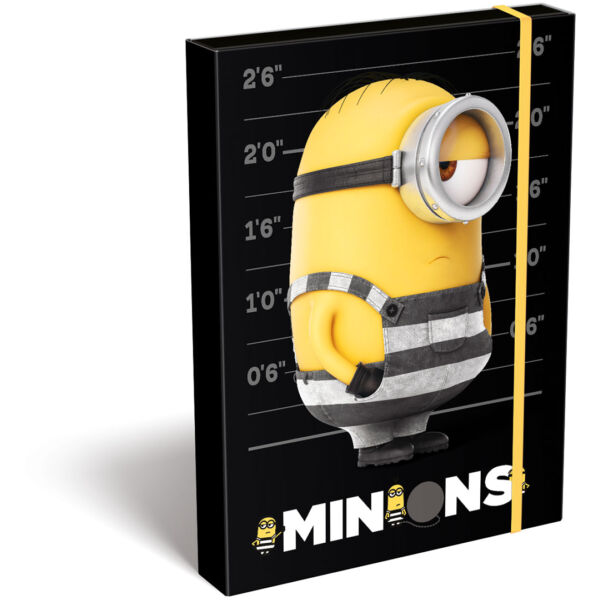 Füzetbox A/4 Minions Stripe