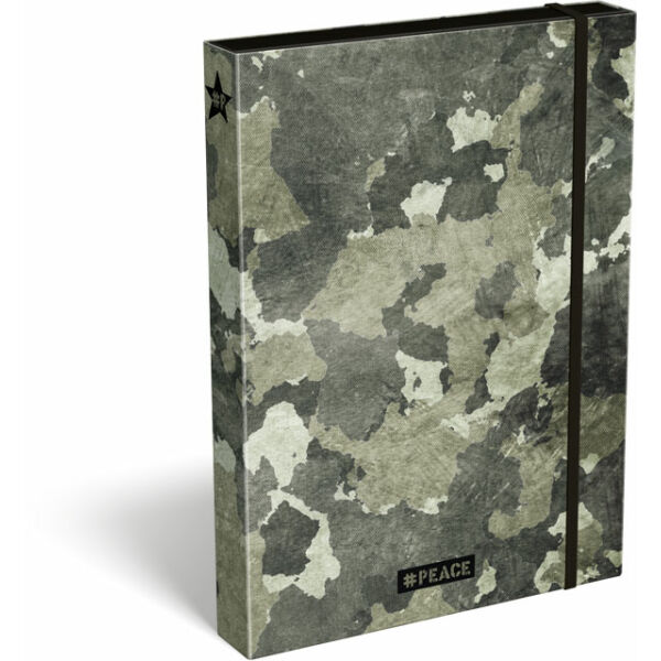 Füzetbox A/4 #peace Forest