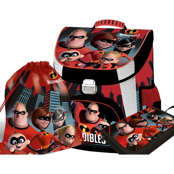 Iskolatáska csomag The Incredibles 2