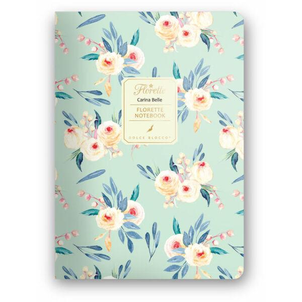 Florette Notebook A5 Dolce Blocco Carina Belle