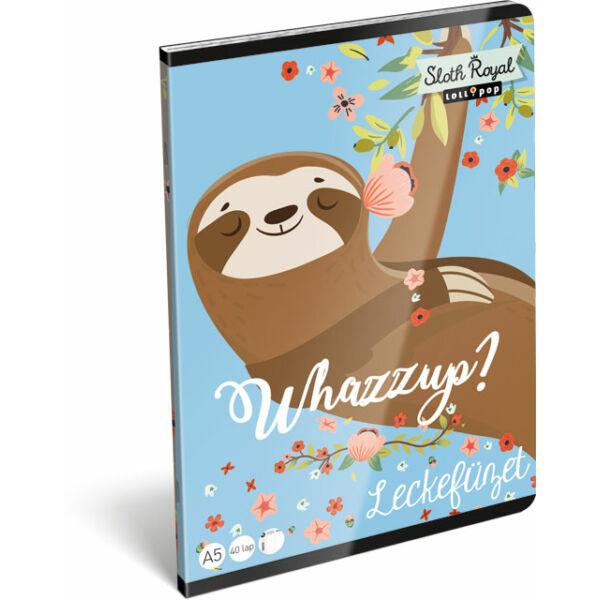 Leckefüzet Lollipop Sloth Royal