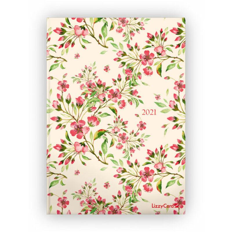 Napi Tervező A5 2021 Cherry Blossoms