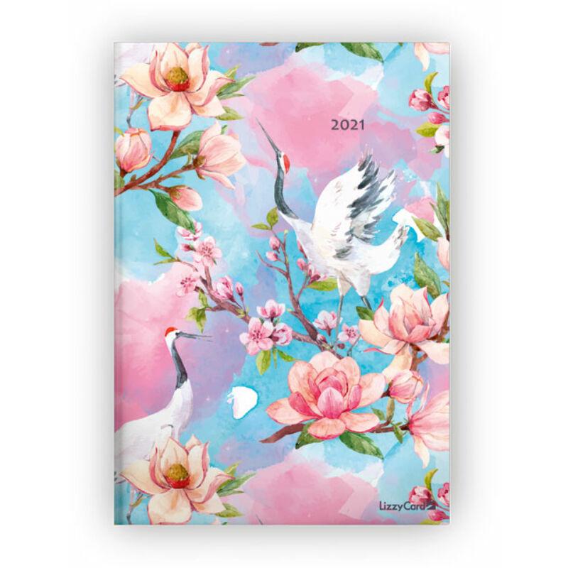 Heti Tervező B5 2021 Flowers and Birds