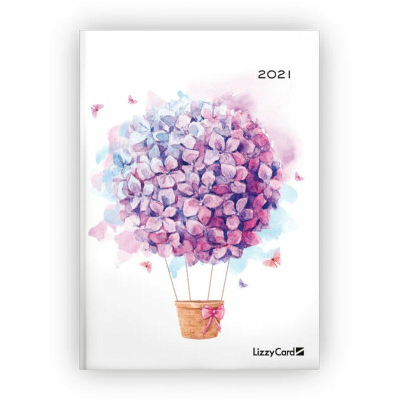 Heti Tervező B6 2021 Flower Ballon