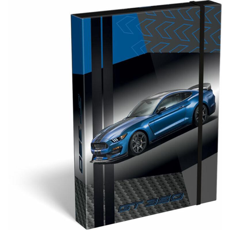 Füzetbox A/5 Ford Mustang Blue