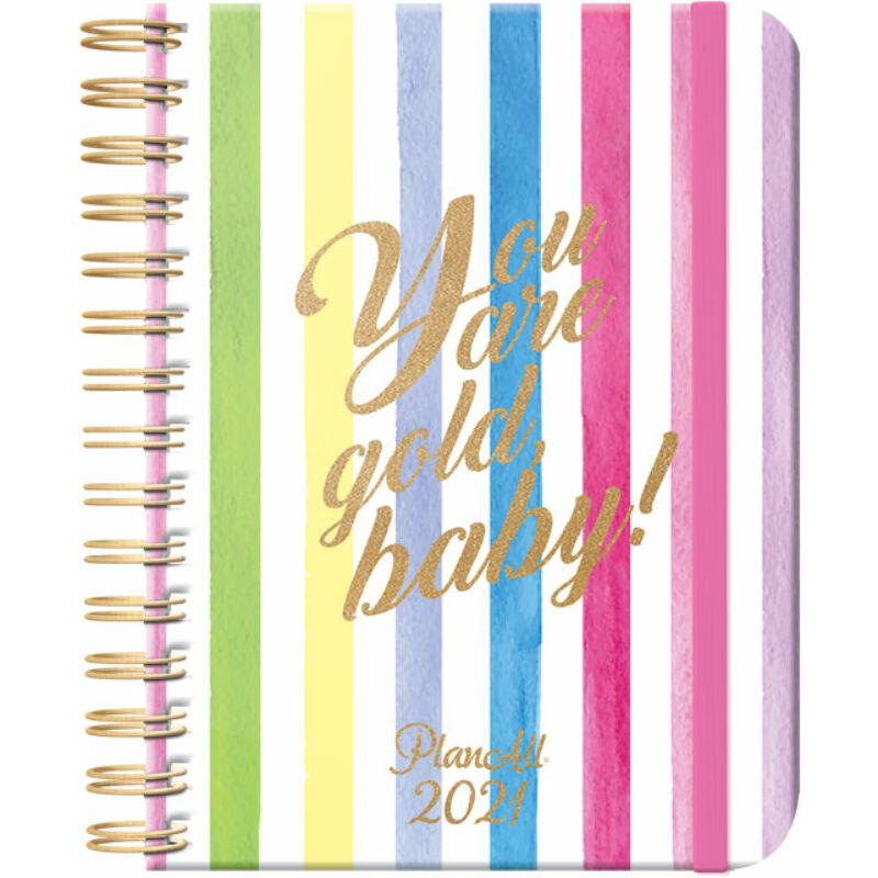 PlanAll B5 heti tervező 2021 Baby