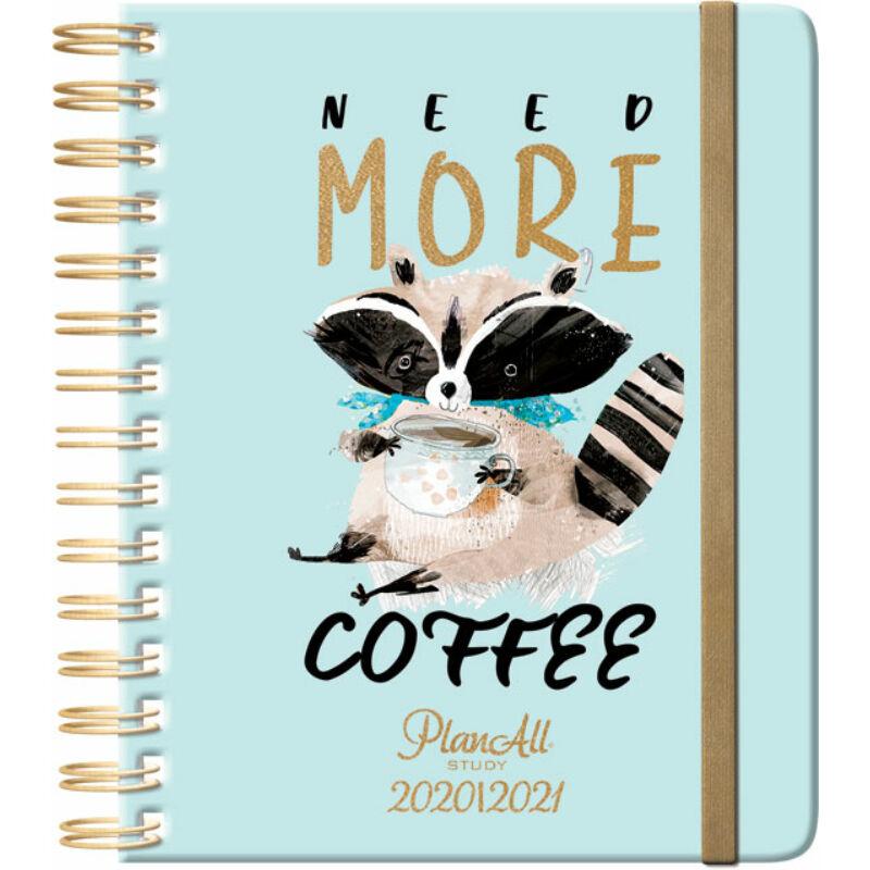 Planall Study B5 Diák Tervező Coffee