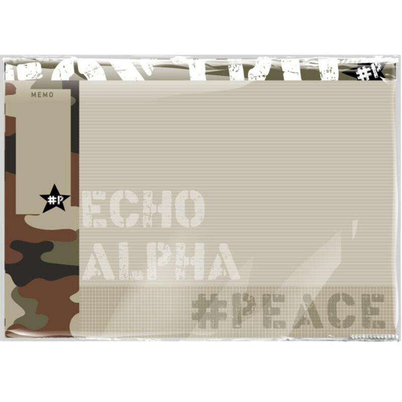 Asztali könyöklő 420 x 590 mm #peace Alpha