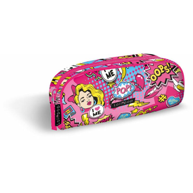 Tolltartó textil bedobós, kicsi Lollipop POP