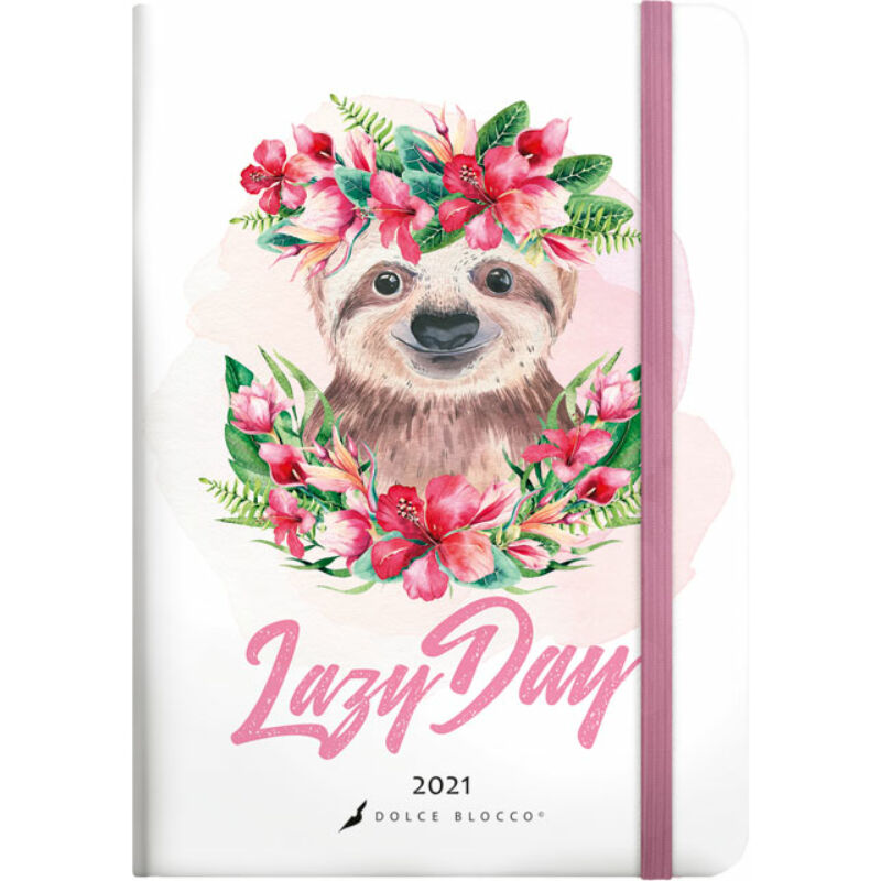 Secret Calendar B6 2021 Lazy Day