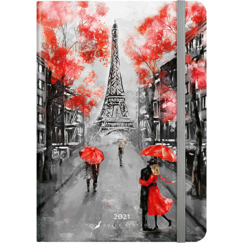 Secret Calendar B6 2021 Paris
