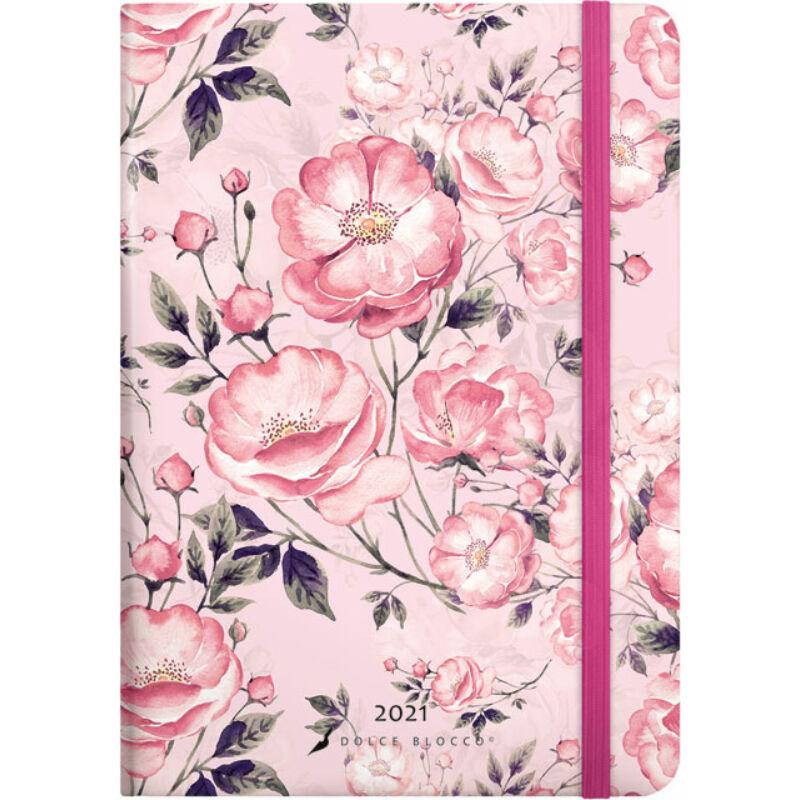 Secret Calendar B6 2021 Rosa Rosato