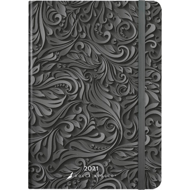 Secret Diary B6 2021 Midnight Baroque