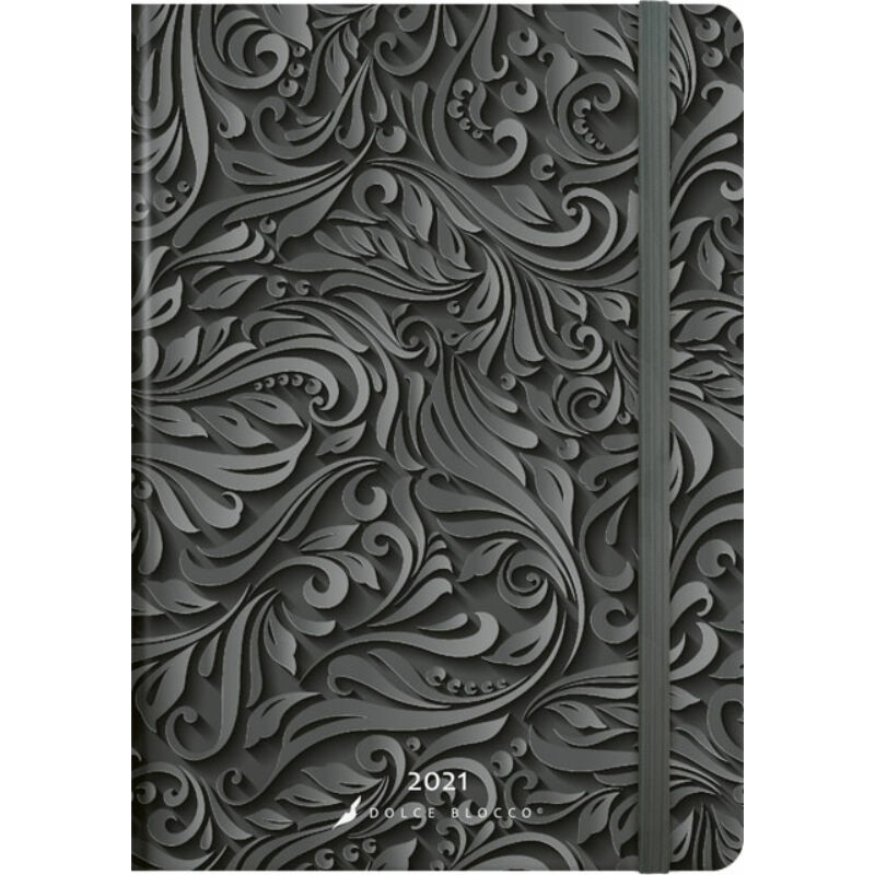Secret Family Planner 2021 Midnight Baroque