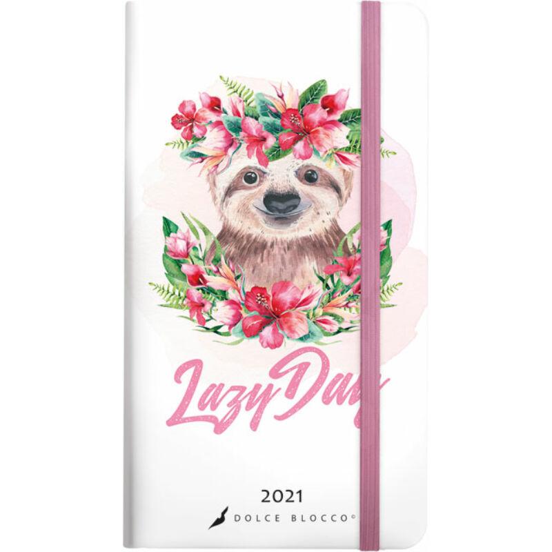 Secret Pocket Planner 2021 Lazy Day