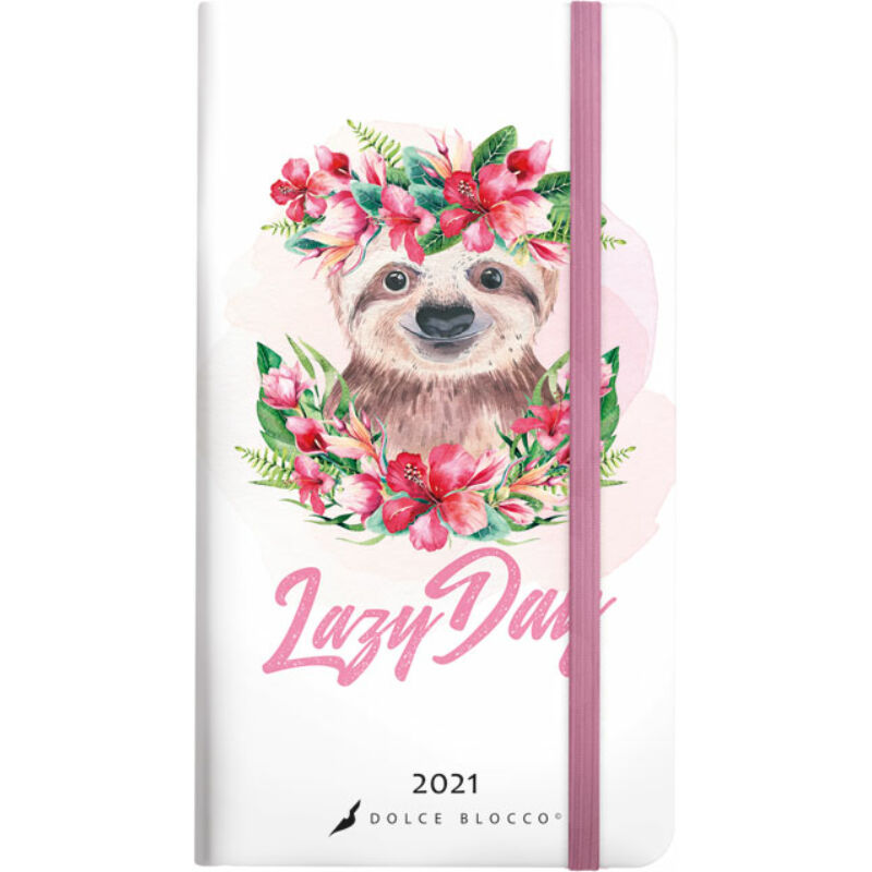 Secret Pocket Planner 2021 Lazy Day