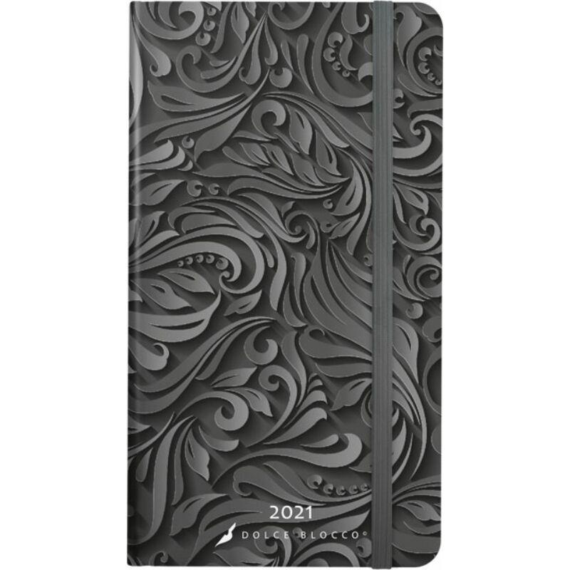 Secret Pocket Planner 2021 Midnight Baroque
