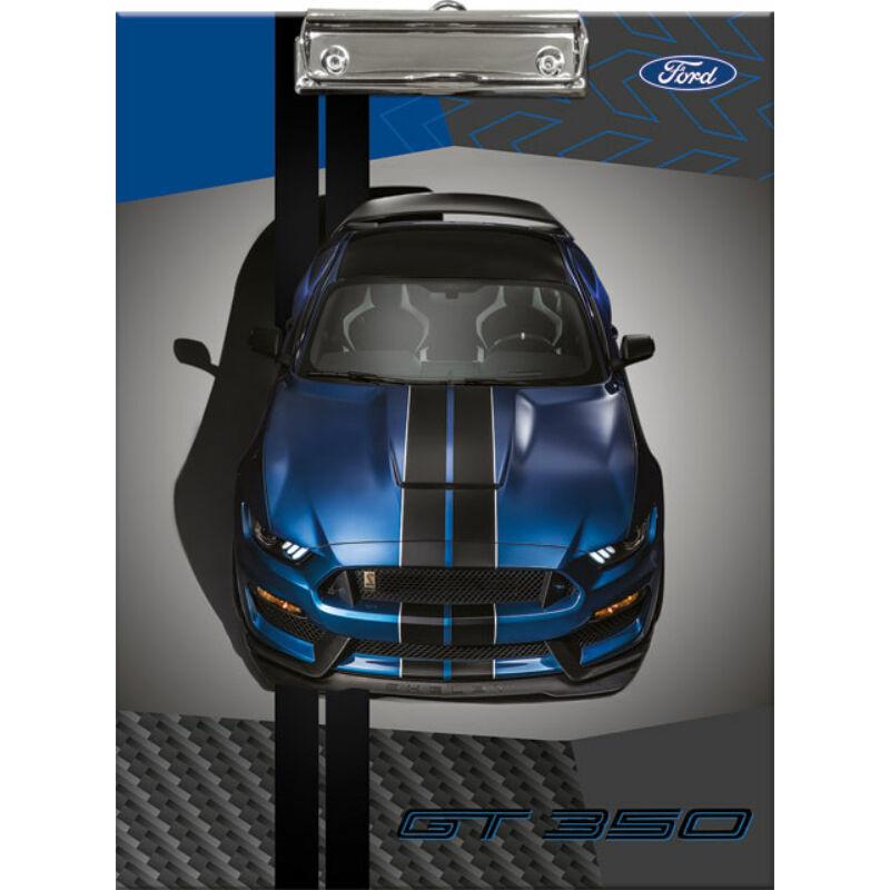 Felírótábla Ford Mustang Blue