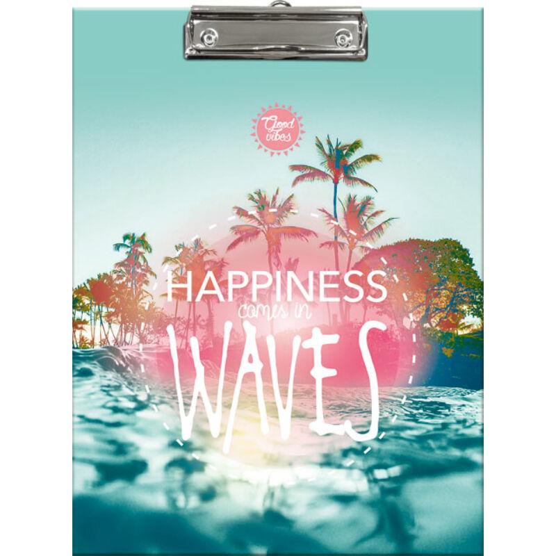 Felírótábla Good Vibes Wave