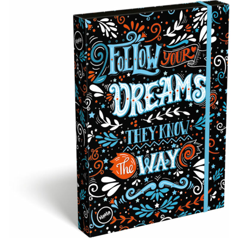 Füzetbox A/4 blabla Dreams
