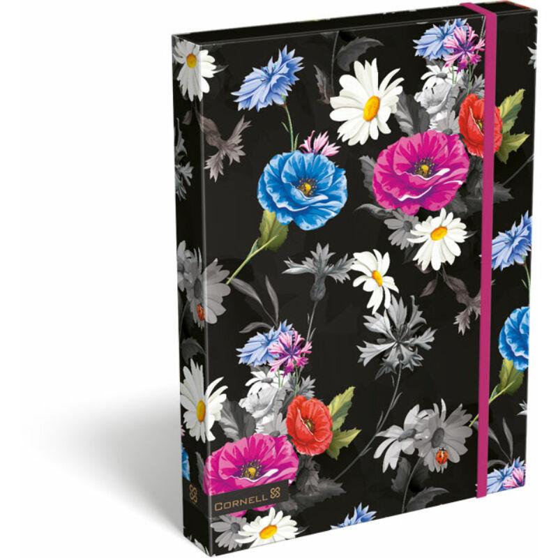 Füzetbox A/4 Cornell Flower