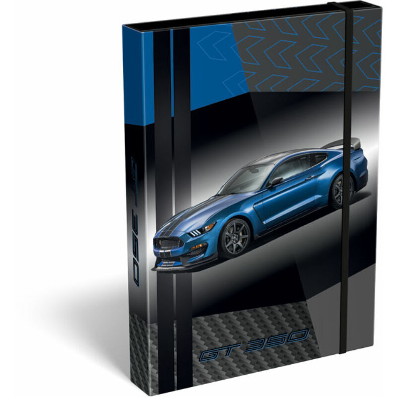 Füzetbox A/4 Ford Mustang Blue
