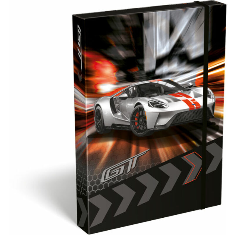 Füzetbox A/5 Ford GT Silver
