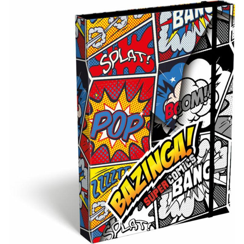 Füzetbox A/5 Supercomics Bazinga