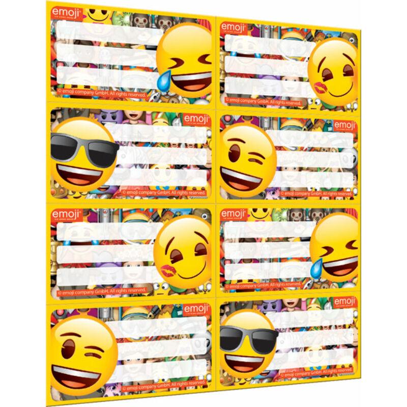 Füzetcímke íves Emoji Mix