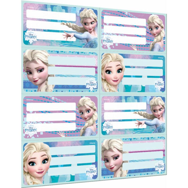 Füzetcímke íves Frozen Magic