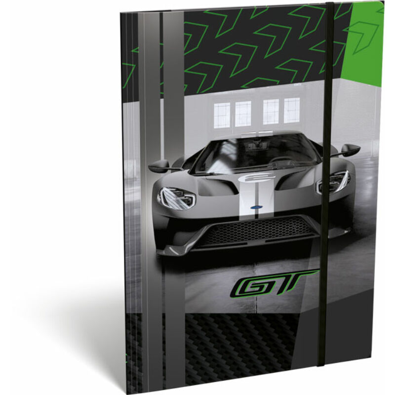Gumis mappa A/5 Ford GT Green