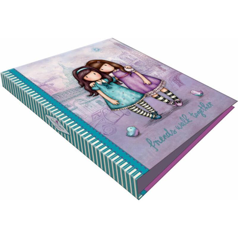 Gyűrűs könyv 2 gyűrűs exkluzív Gorjuss Friends Walk Together