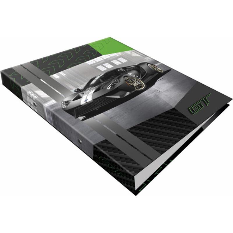 Gyűrűs könyv 2 gyűrűs Ford GT Green