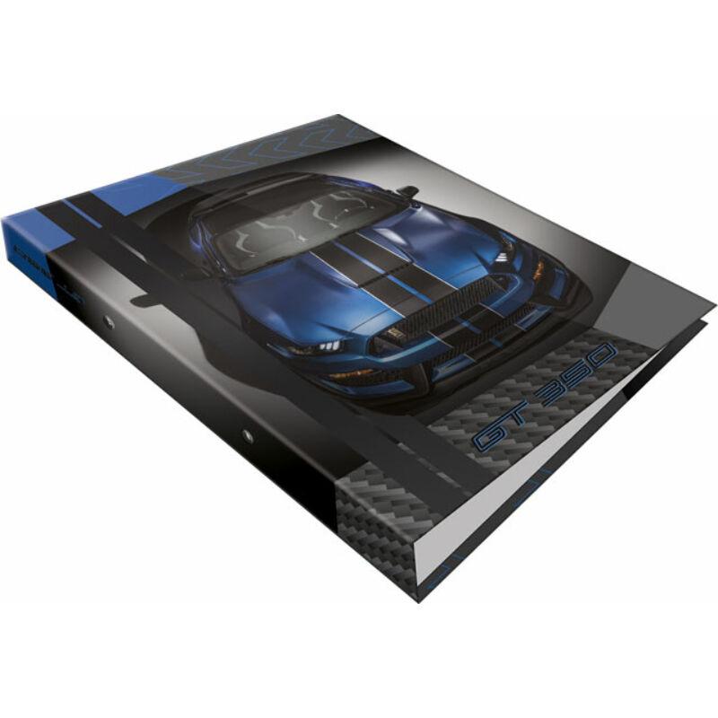 Gyűrűs könyv 2 gyűrűs Ford Mustang Blue