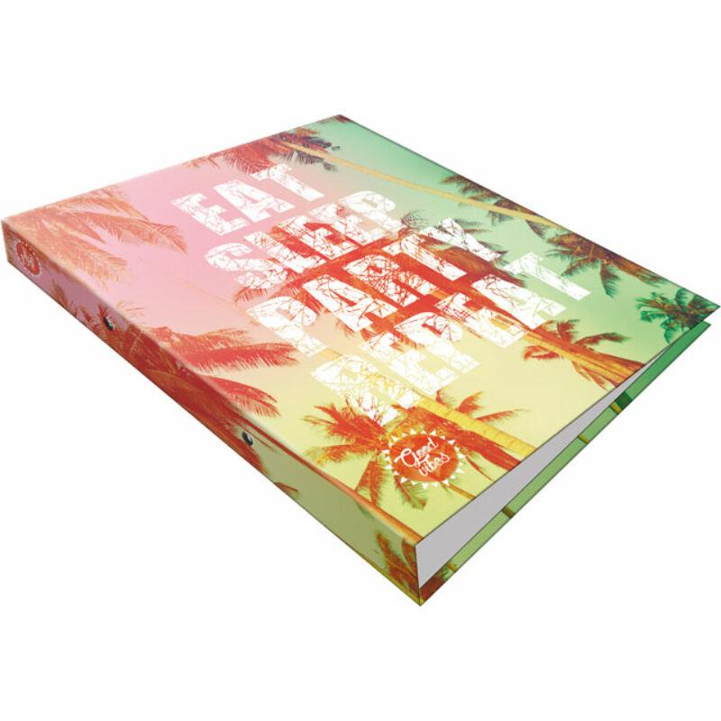 Gyűrűs könyv 2 gyűrűs Good Vibes Party