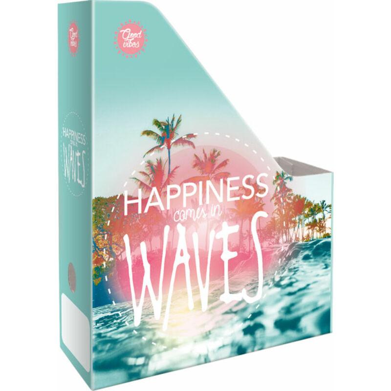 Irattartó Papucs A/4 Good Vibes Wave