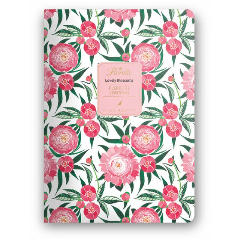 Florette Bullet Journal Dolce Blocco Lovely Blossoms