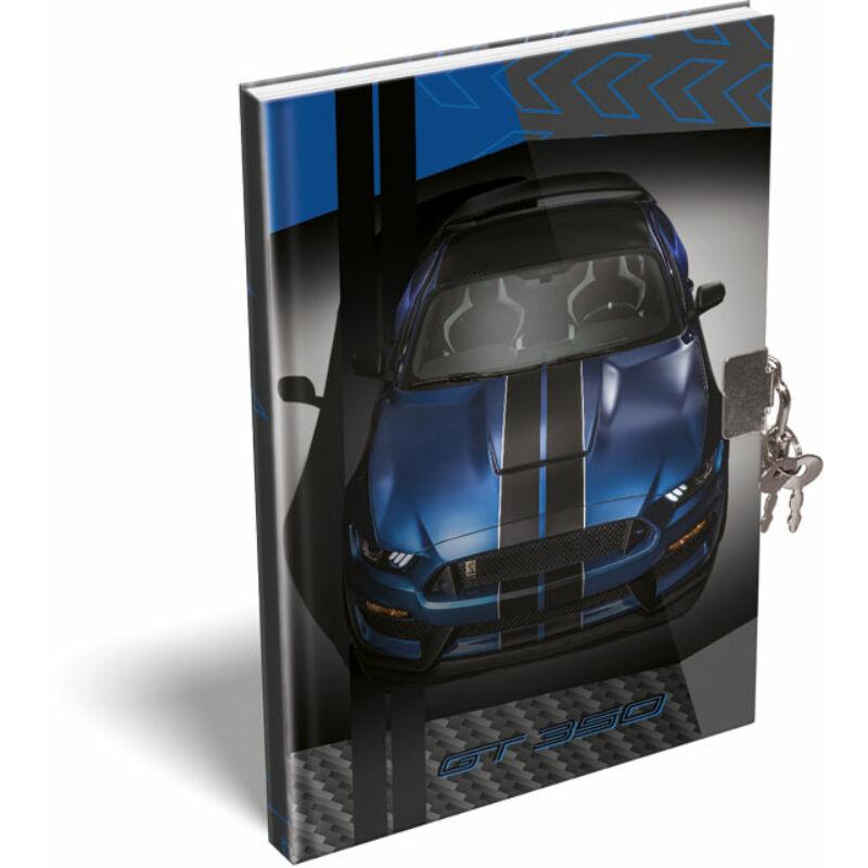Emlékkönyv A/5 Ford Mustang Blue