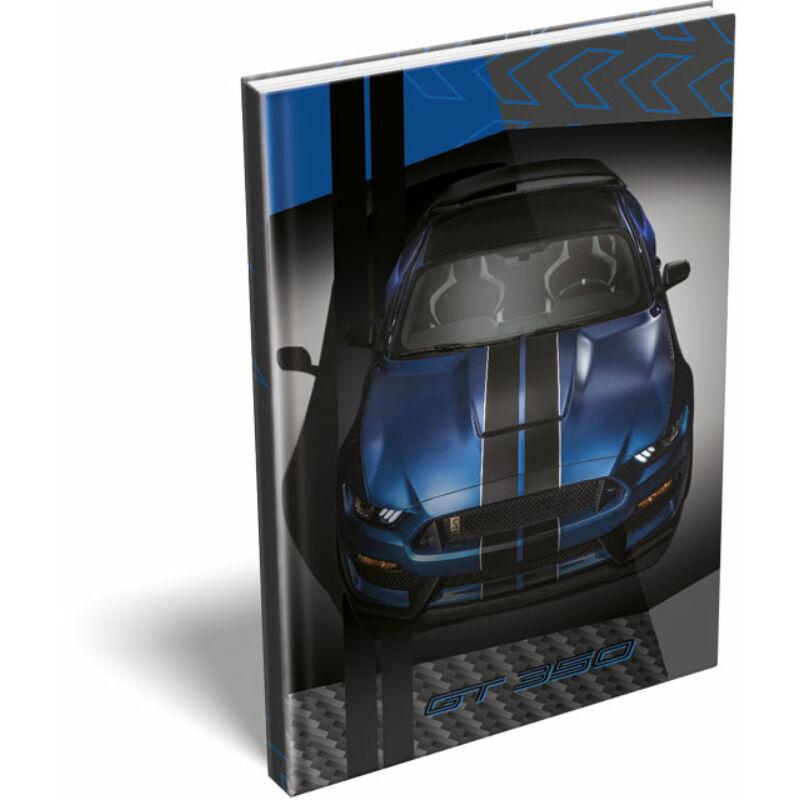 Keményfedeles notesz A5 Ford Mustang Blue