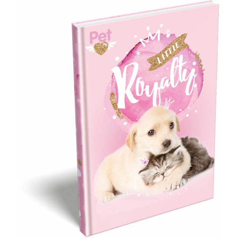 Keményfedeles notesz A5 Little friends Pink