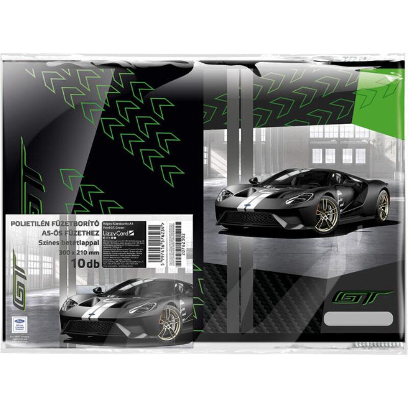 Füzetborító képes A/5 Ford GT Green