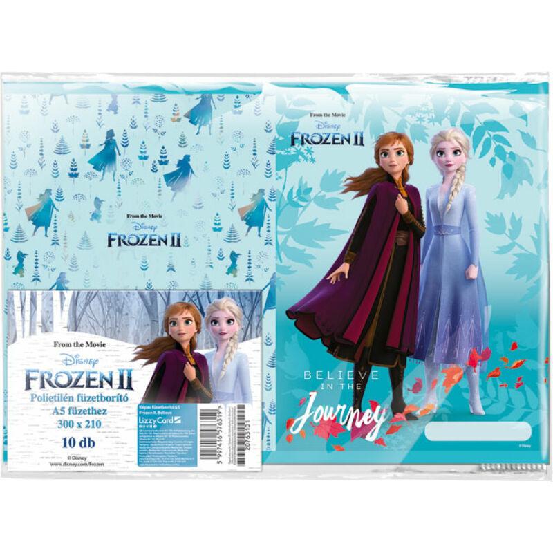 Füzetborító képes A/5 Frozen 2 Believe